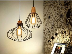 Geometric Industrial Pendant PD3903