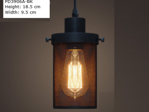 Industrial Mesh Pendant PD3906