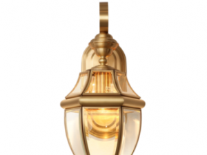 Brass Wall Light WL3905