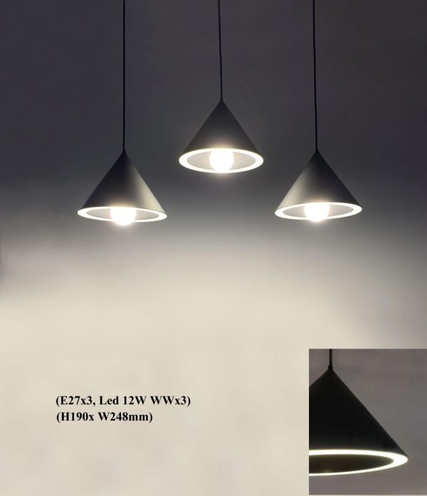 Inverted Cone with LED Pendant PD2002